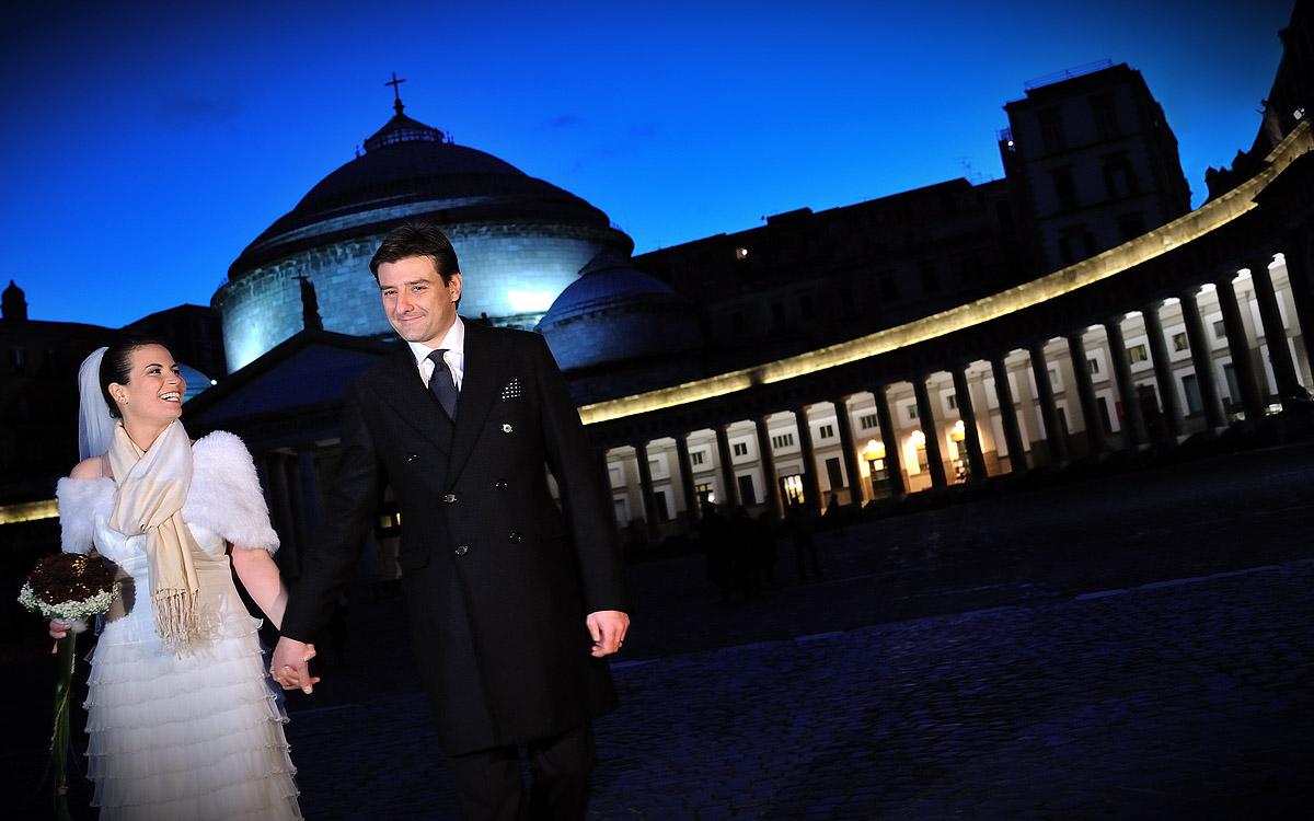 luoghi per fare foto di nozze piazza del plebiscito napoli