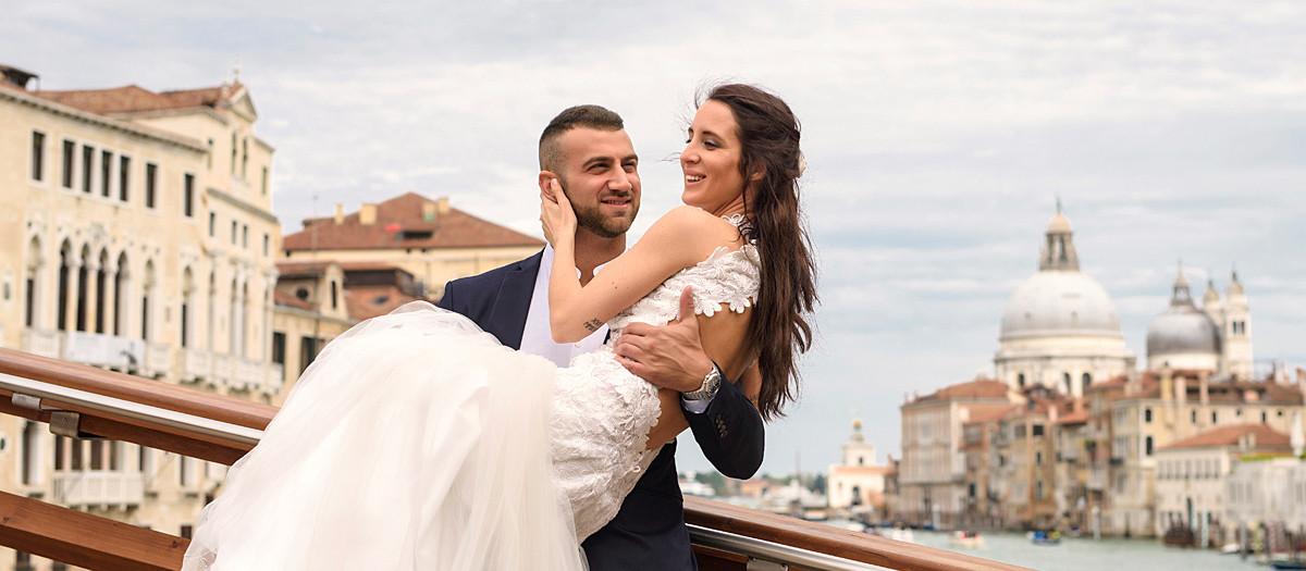 Il sogno di un Matrimonio a Venezia. Michele e Alessia, un vero Perfect Duet